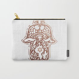 Rose Gold - Hamsa - Hand of Fatima Carry-All Pouch
