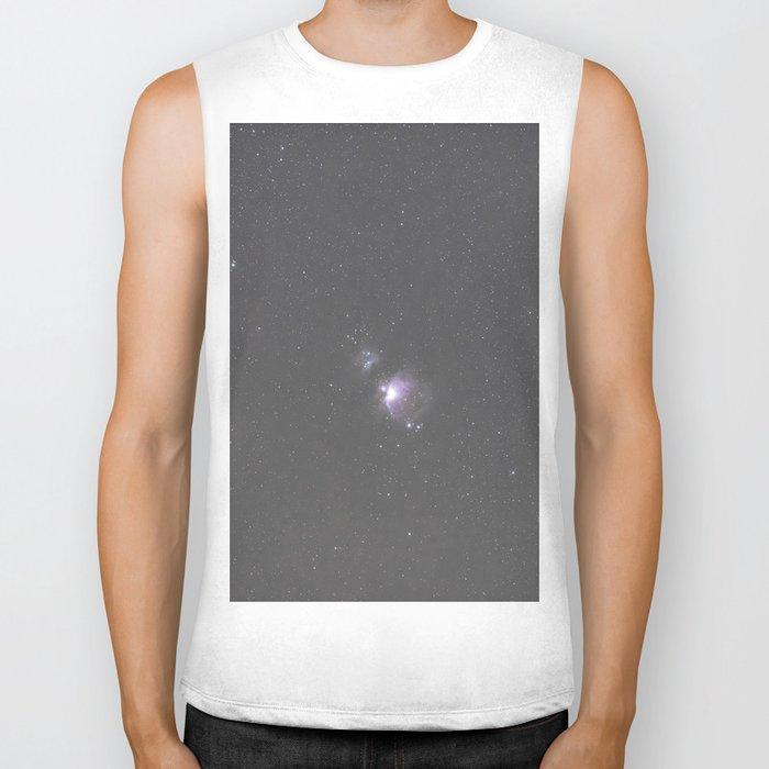 Orion Running Man flame and Horsehead Nebula's Biker Tank