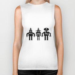 Three Robots by Bruce Gray Biker Tank