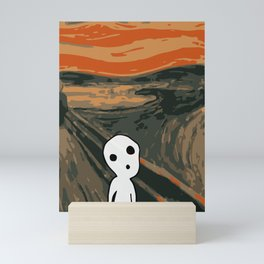 Kodama Scream Mini Art Print