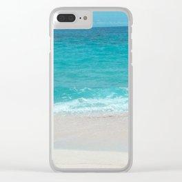 Take a Deep Breath Clear iPhone Case