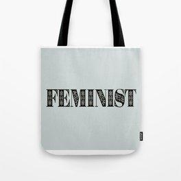 Feminist Typography Tote Bag