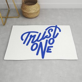 TRUST NO ONE Rug