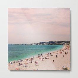 That's a Nice beach Metal Print