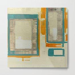 Mid Century Modern Blurred Abstract Art Best Most Popular by Corbin Henry Metal Print