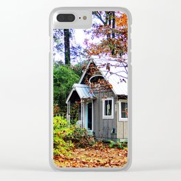fall abode Clear iPhone Case
