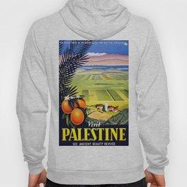 Palestine, vintage travel poster Hoody