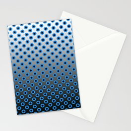GRADIANT CIRCLES  Stationery Cards
