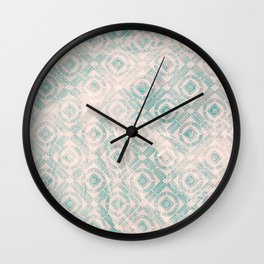 freestyle pattern Wall Clock