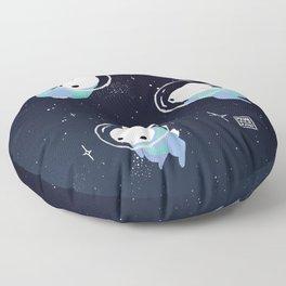 Space Bunnies Floor Pillow
