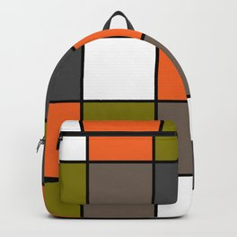 #Colorful #squares Backpack