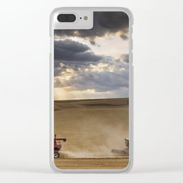 The Race to Finish Clear iPhone Case