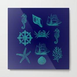 Marine Life 2 Metal Print