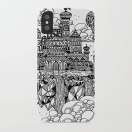 Floating city iPhone Case