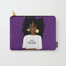 LEGALIZE MELANIN (D) Carry-All Pouch