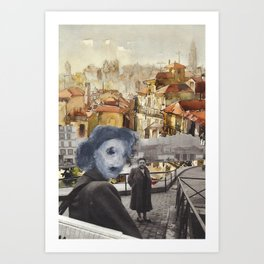 # Once upon a time in Porto Art Print