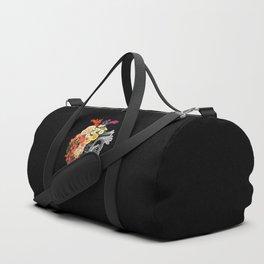 Flower Heart Spring Duffle Bag