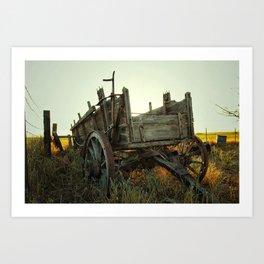 Chuck Wagon Art Print