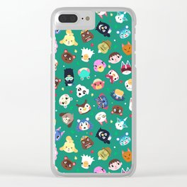 Happy Town Clear iPhone Case