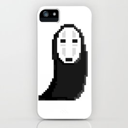 Kaonashiカオナシ (no face) pixel iPhone Case