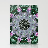 stained glass Stationery Cards featuring Stained Glass  by IowaShots