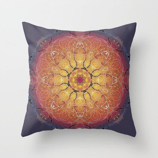 Warmth Throw Pillow