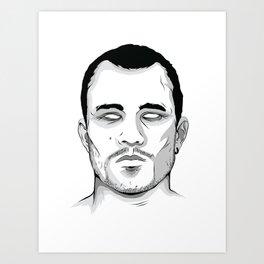 Heath Ledger Art Print