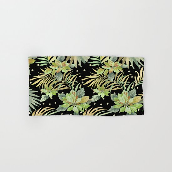tropical nite Hand & Bath Towel