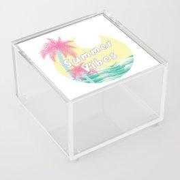 Summer Vibes Acrylic Box