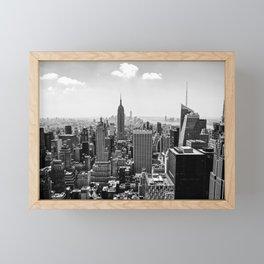 New York Skyline Framed Mini Art Print