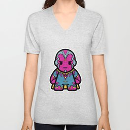 mind man Unisex V-Neck