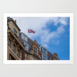 Historic London Building Art Print