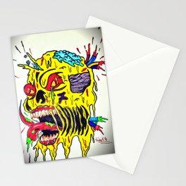 Skull Keeping Stationery Cards