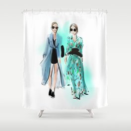 Streetstyle no 24 Shower Curtain
