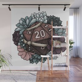 Monk Class D20 - Tabletop Gaming Dice Wall Mural