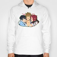 iwatobi Hoodies featuring Fish Sandwich by Alyssa Tye