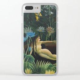 The Dream, Henri Rousseau Clear iPhone Case