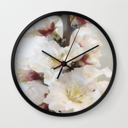 Spring blossoms vintage II Wall Clock