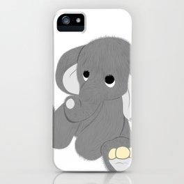 Stuffed Elephant iPhone Case