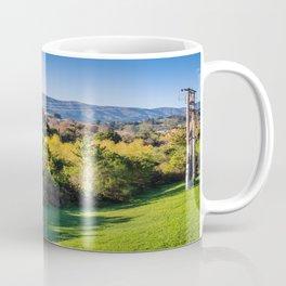 River Bank Trees Coffee Mug