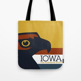 Iowa - Redesigning The States Series Tote Bag