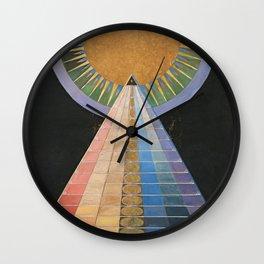 Altarpiece No. 1 Group X Hilma Af Klint 1915 Wall Clock