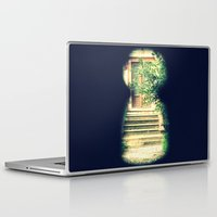 door Laptop & iPad Skins featuring door by gzm_guvenc