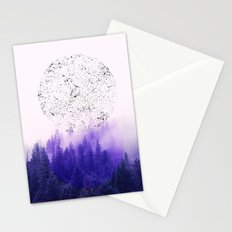 Circle Forest Stationery Cards