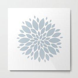 Flower in White #2 Metal Print