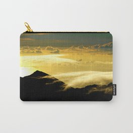 Wispy Clouds Carry-All Pouch