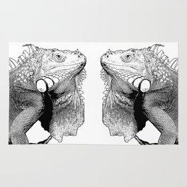 Iguanas (animals) Rug