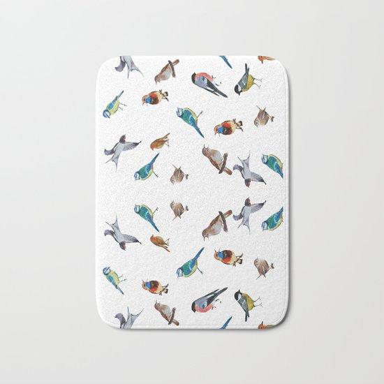 I love birds Bath Mat