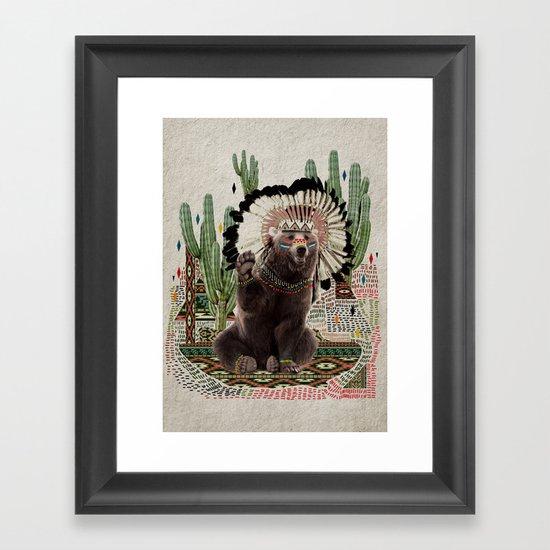 AHANU Framed Art Print