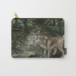 Hello Little Girl Carry-All Pouch